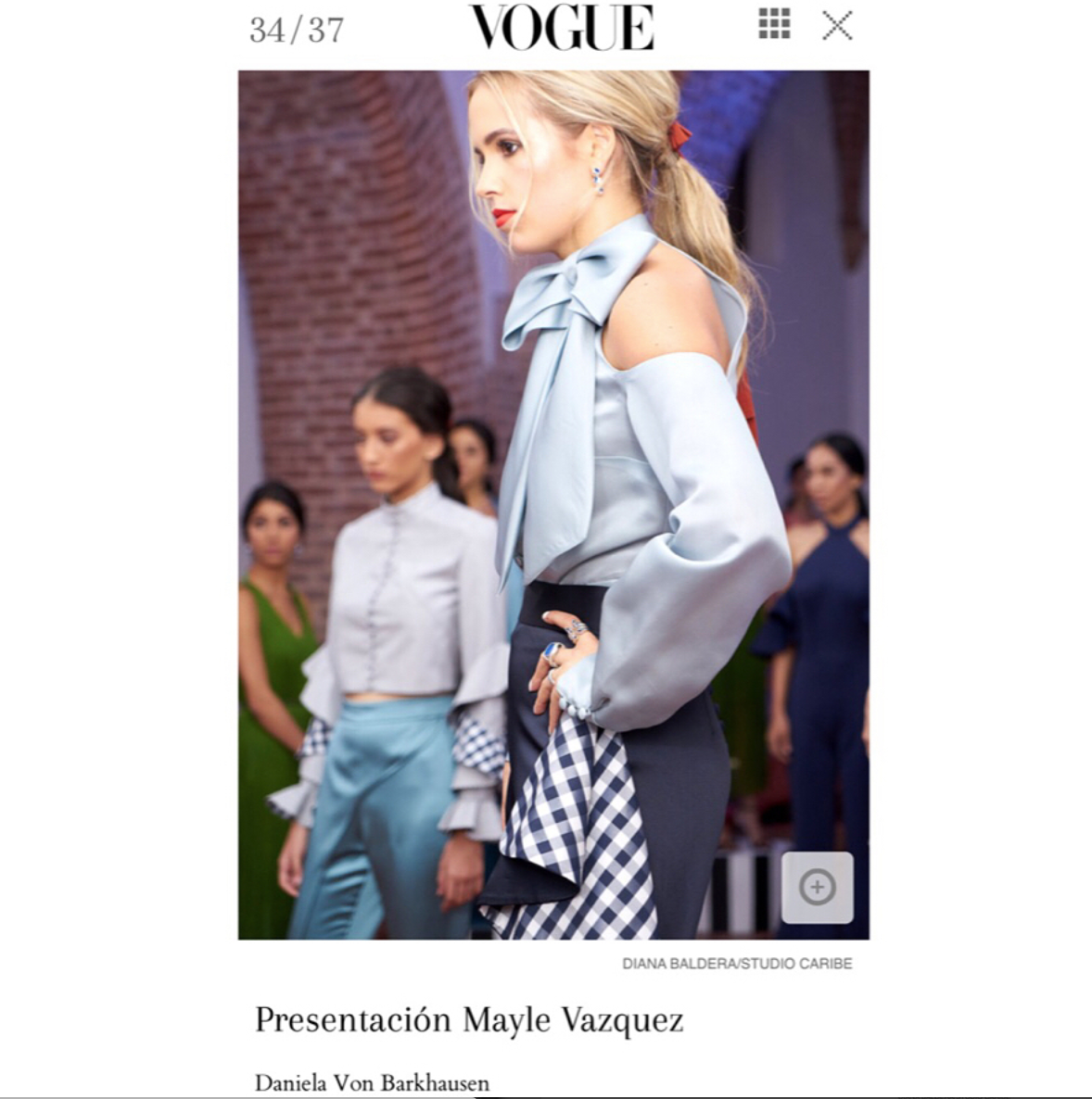 Vogue Mexico: Dominicana Moda - 2018